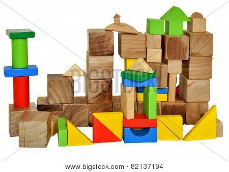 City Of Wooden Cubes
