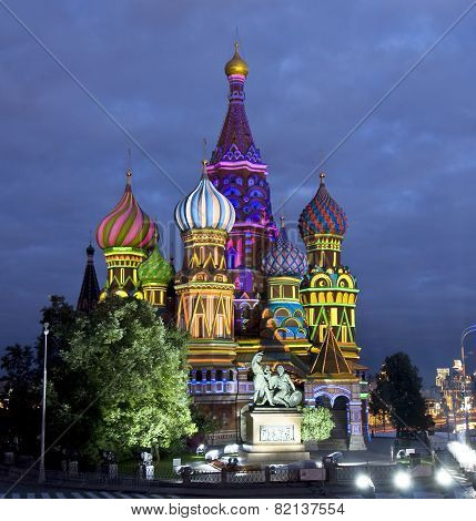 Moscow, Saint Basils Cathedral