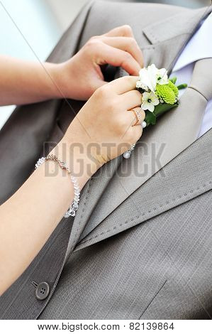 Groom's Flower