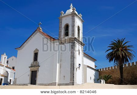 Church Of Vasco Da Gama In Sines, Portugal
