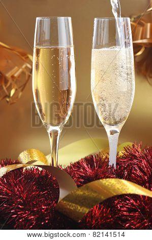 Champagne Splashes