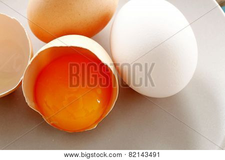 Eggs And Yolk