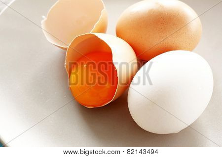 Eggs And Yolk
