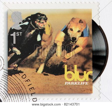 Blur Album Stamp