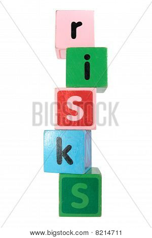 Risks In Toy Play Block Letters