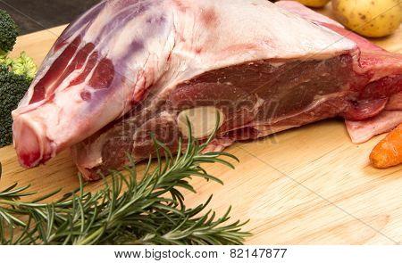 Welsh lamb shoulder