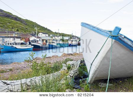 Fishing Village at Petty Harbour
