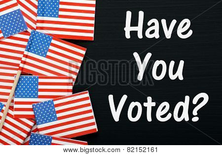 Have You Voted?