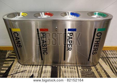Metal Dusbin Bins
