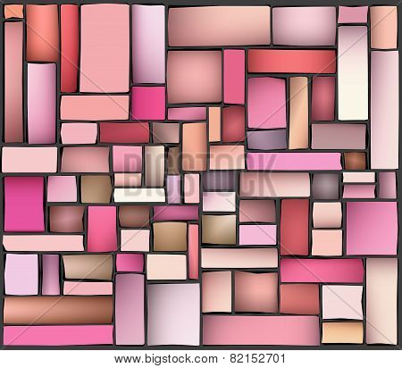 Pink Purple Abstract Pattern Tile Surface Backdrop