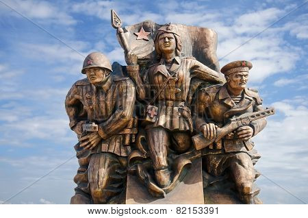 Monument Marine Commandos In Kerch