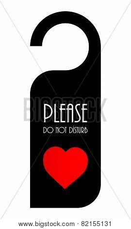 Door Knob Or Hanger Sign For Valentine's Day