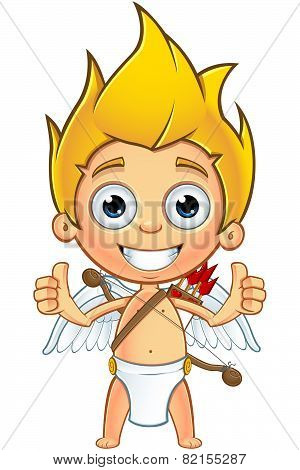 Blonde Cupid Character