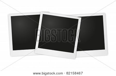 Vector photos photo on white background. Eps 10