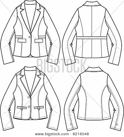 lady blazer formal jacket