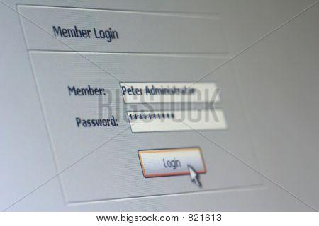login Membros 01