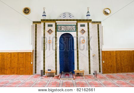 Mihrab Of Mosque