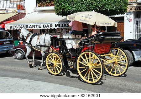 Horse and Carriage, Mijas.