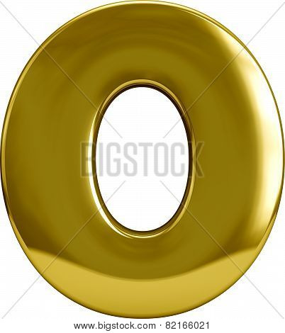 Gold Metal Zero 0