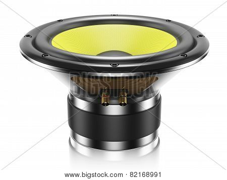 Sound Speaker Isolated