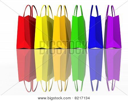 Colors Shopping Bags