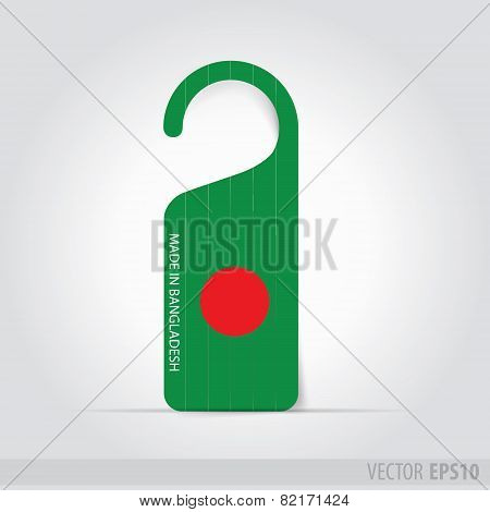 Made In Bangladesh Tag For Door