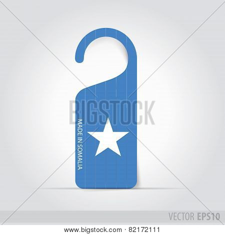 Made In Somalia  Tag For Door