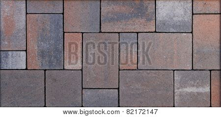 Red And Gray Pavement