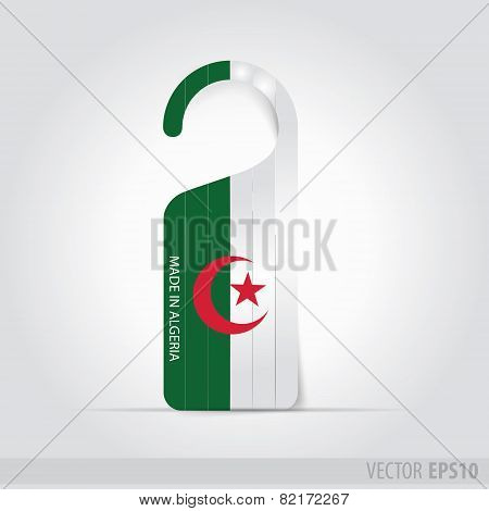 Made In Algeria  Tag For Door