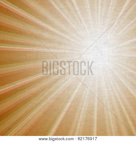 Retro Grunge Light Rays Background