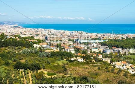 Cityscape Of Pescara In Italy