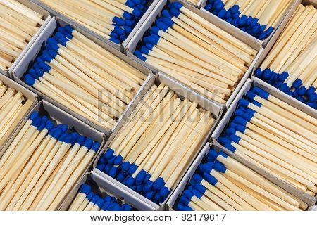 Matchboxes With Matches