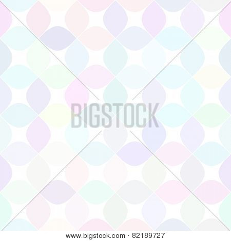 Abstract vector background Geometric pastel color tile Seamless pattern