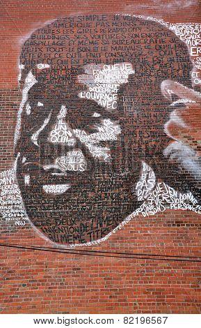 Street art Montreal Dany Laferriere