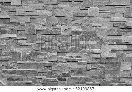 Monochrome Marble Wall