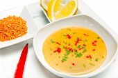 pic of tripe  - Mercimek Corbasi is a traditional Turkish lentil soup - JPG