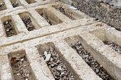image of reinforcing  - rust in reinforcement concrete beam is danger - JPG