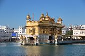 picture of bangla  - Golden Temple in Amritsar  - JPG