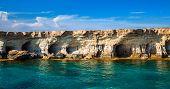 image of cave  - sea caves near Ayia Napa  - JPG