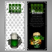 picture of drawing beer  - beer menu design for St - JPG