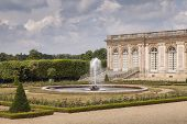 picture of versaille  - Grand Trianon in the park of Versailles France - JPG