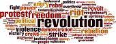 image of revolt  - Revolution Word Cloud Concept - JPG