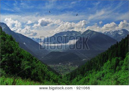 Arhyz. Berge