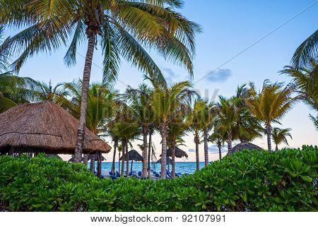 Dusk Playa Del Carmen