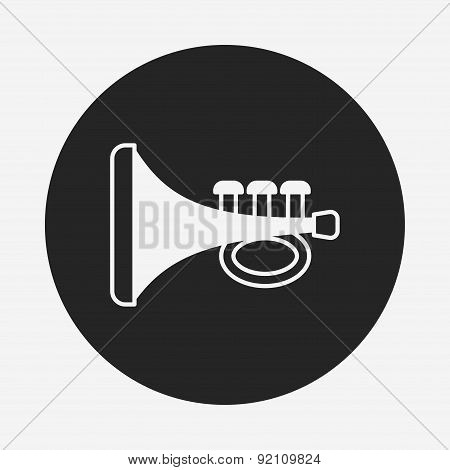 Baby Toy Trumpet Icon