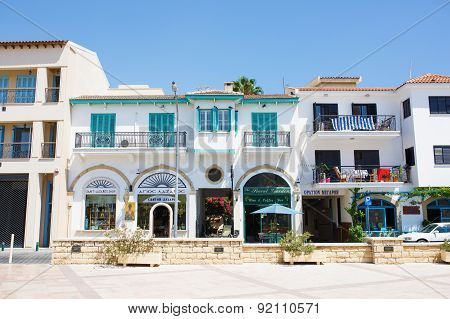 ouristic center of Larnaca numerous restaurants cafes and shops. Church of Saint Lazarus square.