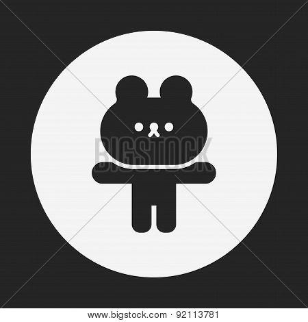 Rabbit Doll Icon