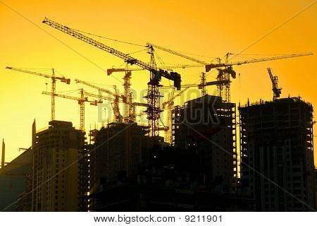 High Rise Apartment Construction
