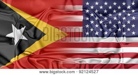 USA and East Timor
