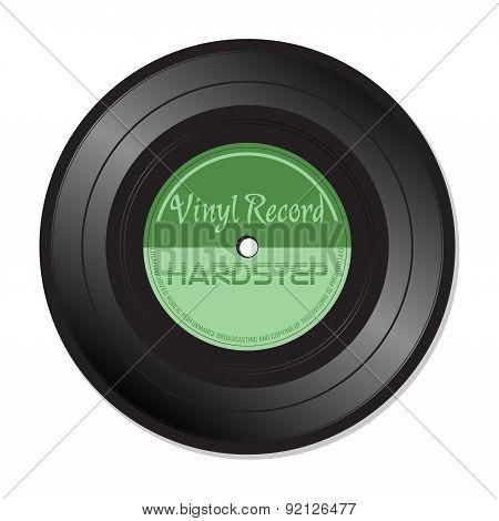 Hardstep vinyl record